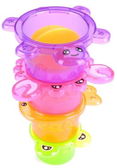 Free and Easy badspeelgoed stapeltoren 4 delig