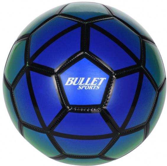 Free and Easy Bullet Sports voetbal maat 5 blauw/groen