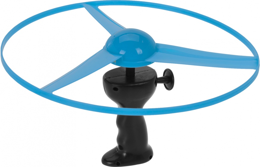 Free and Easy flying disc met licht 29 cm blauw