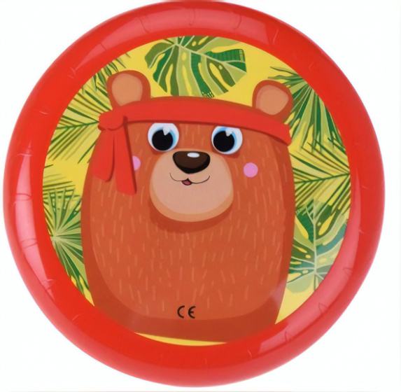 Free and Easy frisbee Beer 23 cm rood