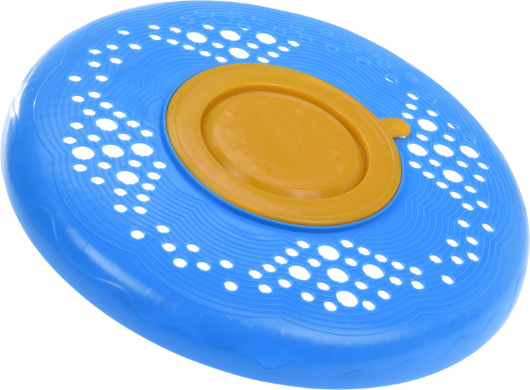 Free and Easy frisbee Bellen junior 25 cm blauw/oranje