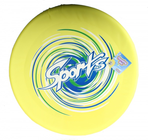 Free and Easy frisbee geel 58 cm