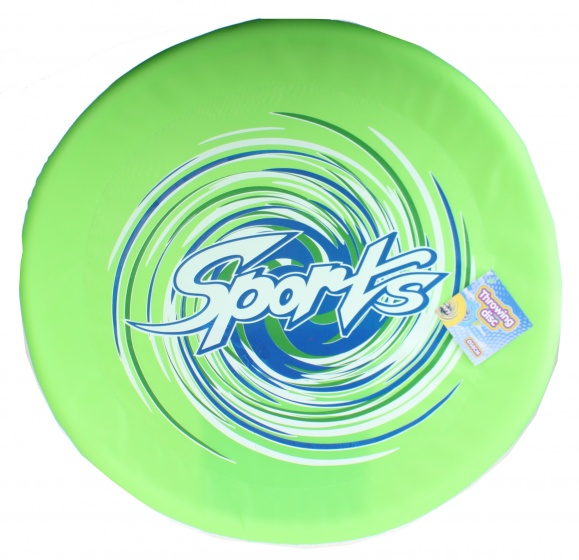 Free and Easy frisbee groen 58 cm