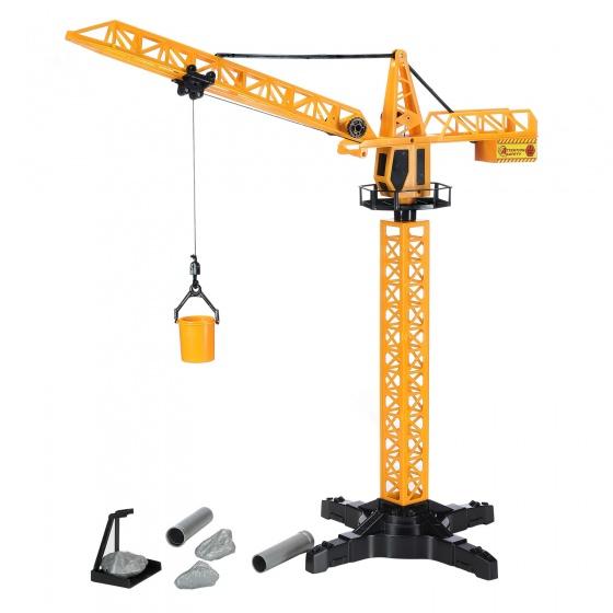 Free and Easy hijskraan met afstandsbediening 55 cm oranje