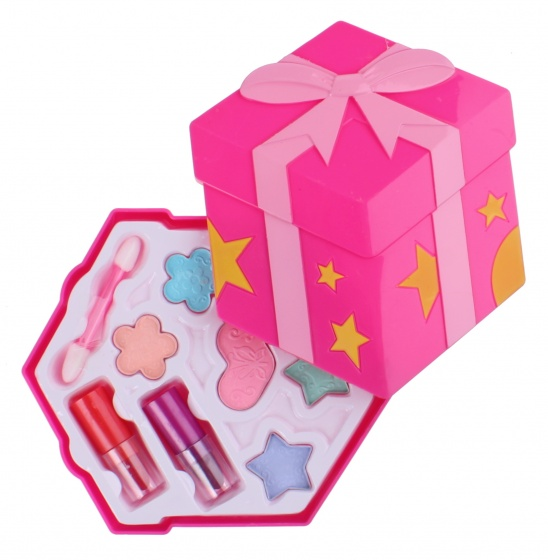 Free and Easy make upset Cadeau 12 cm roze Cadeau Speelgoed>Rollenspel & Verkleden>Make-up & Opmaken