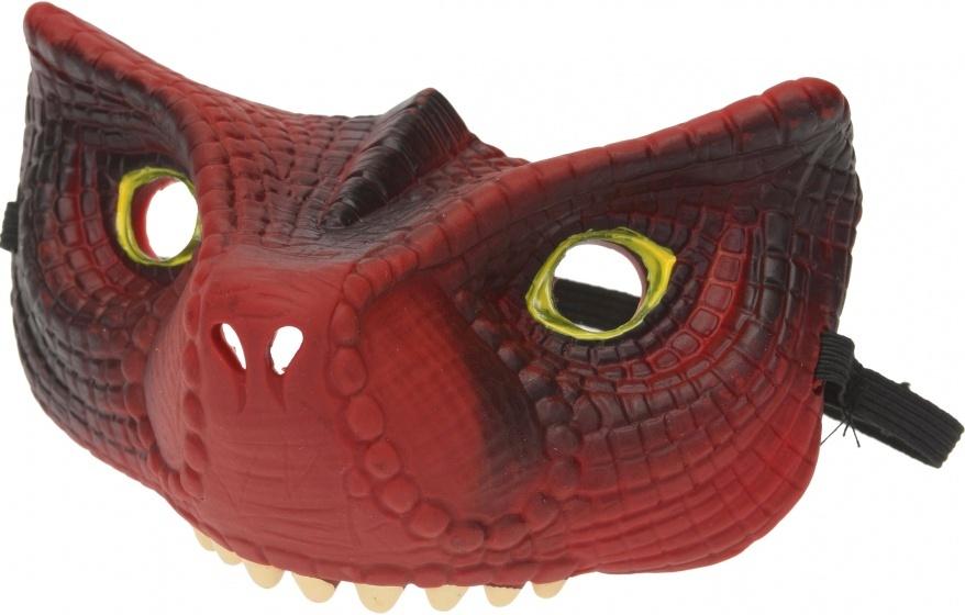 Free and Easy masker dinosaurus 14 cm rood