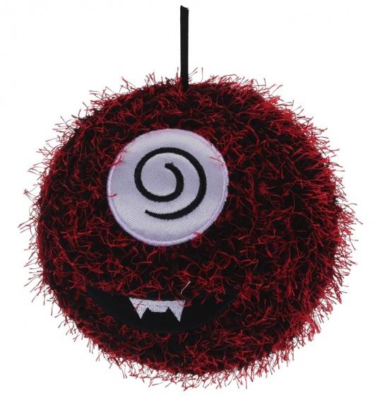 Free and Easy Opblaasbare monsterbal rood 15 cm