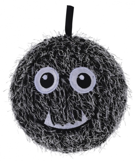 Free and Easy Opblaasbare monsterbal wit 15 cm
