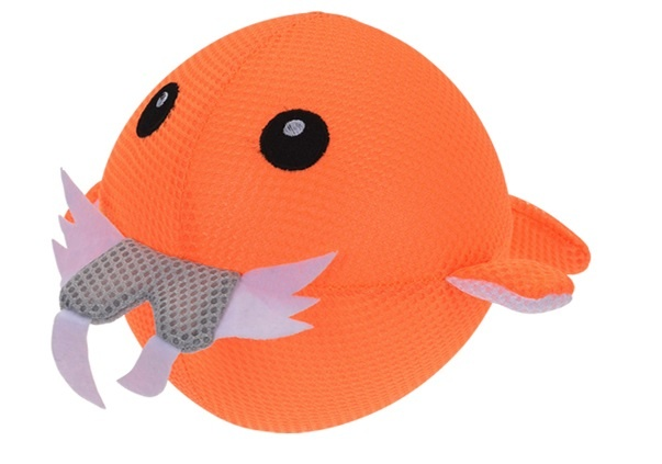 Free and Easy Opblaasbare splashbal zeedier oranje 15 cm