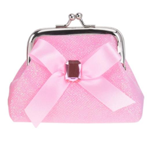 929816bd54f Free and Easy portemonnee clip strik 10 cm roze