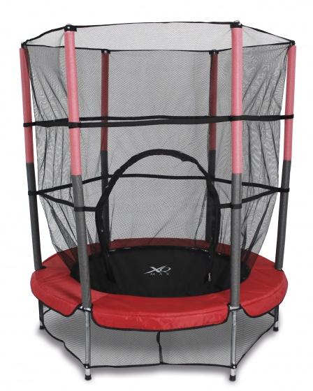 Free and Easy ronde XQ Max trampoline met veiligheidsnet 139 cm