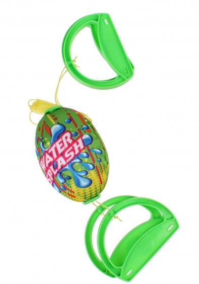Free and Easy speedbal Water Fun groen 14 cm