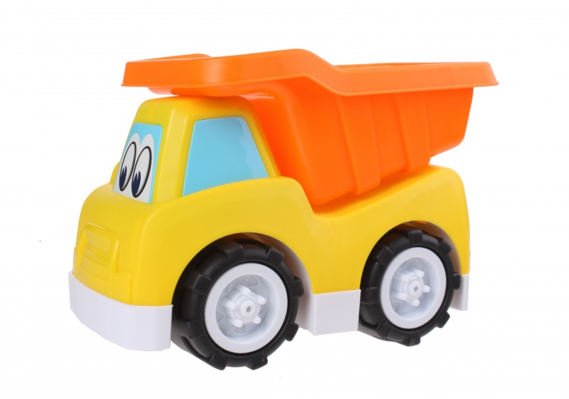 Free and Easy speelgoedauto Dumper 24 cm geel