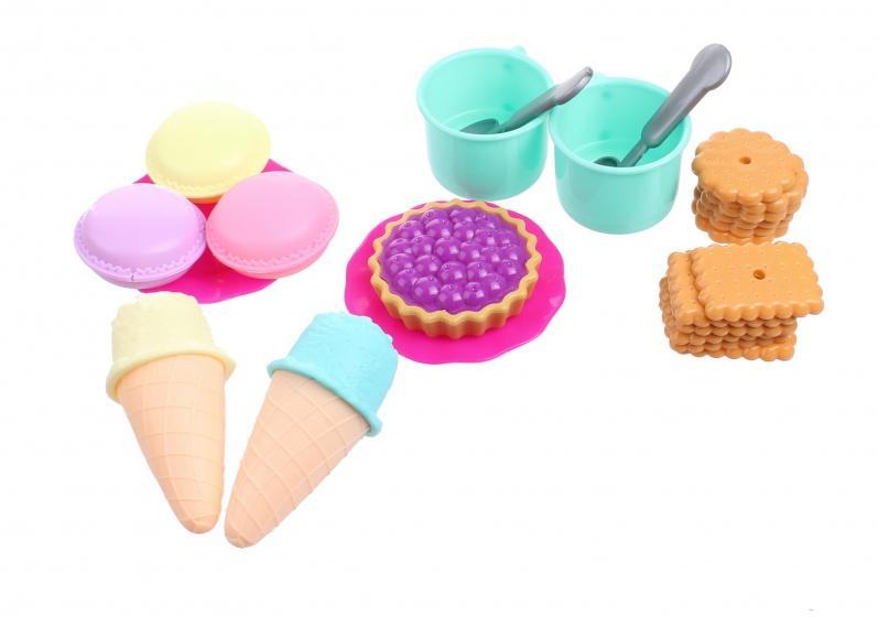 Free and Easy speelset ijs en koffiehuis 25 delig
