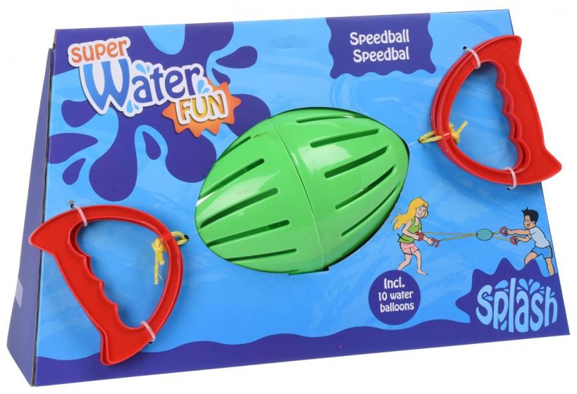 Free and Easy splashbal groen 20 cm + 10 waterballonnen
