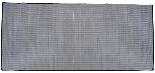 Free and Easy strandlaken 70x200 cm polyester zwart