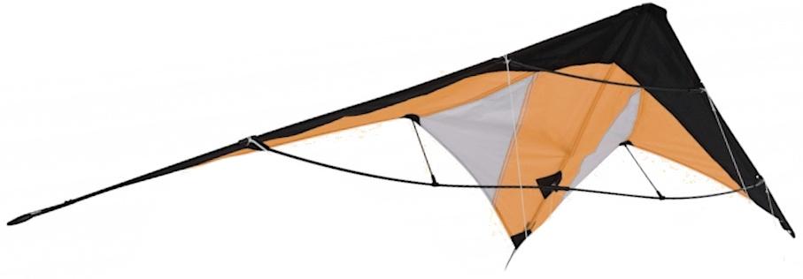 Free and Easy vlieger oranje 180 cm