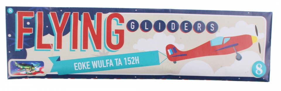 Free and Easy vliegtuig Flying Gliders 18 cm Eocke Wulfa TA 152H