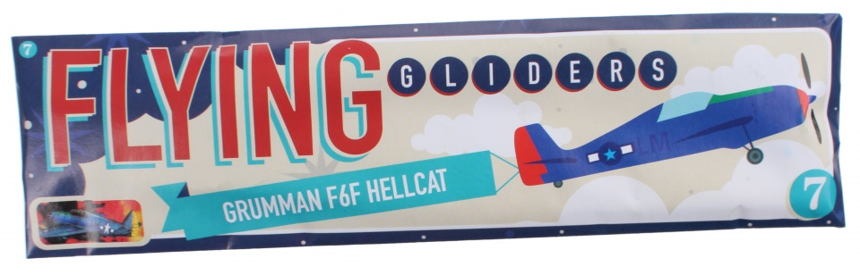 Free and Easy vliegtuig Flying Gliders 18 cm Grumman F6F Hellcat