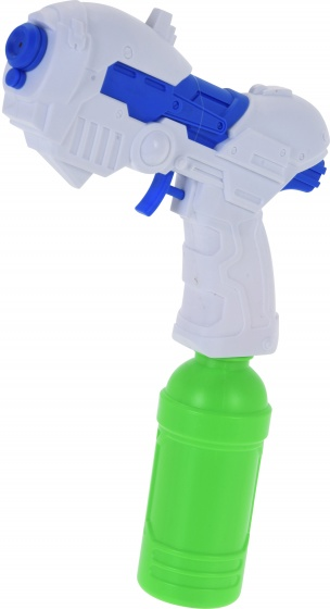 Free and Easy waterpistool junior 19 cm 200 ml wit/blauw