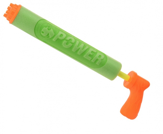Free and Easy waterspuiter oranje groen 39 cm