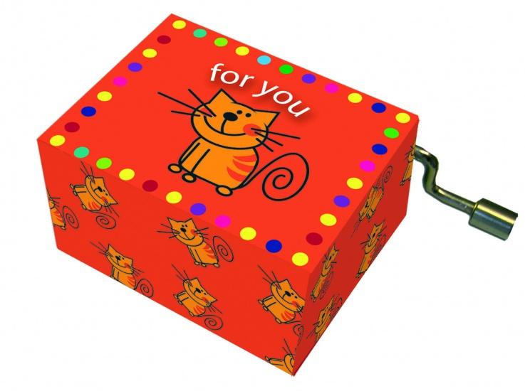 Fridolin Muziekdoosje: 'happy Birthday' For You Met Kat