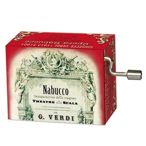 Fridolin Muziekdoosje: Opera '' Nabucco''