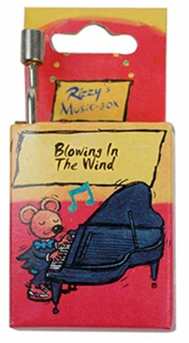 Fridolin Rizzy Muziekdoosje: Blowing in The Wind