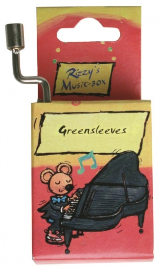 Fridolin Rizzy Muziekdoosje: Greensleeves