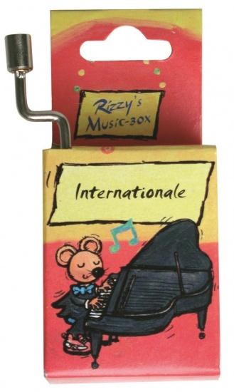 Fridolin Rizzy Muziekdoosje: Internationale