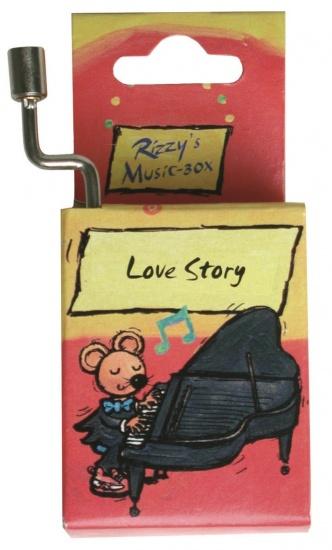 Fridolin Rizzy Muziekdoosje: Love Story