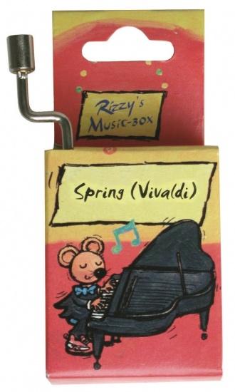 Fridolin Rizzy Muziekdoosje: Spring (vivaldi)