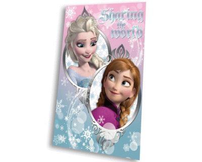 Disney Frozen Plaid Elsa en Anna 100 X 150 cm