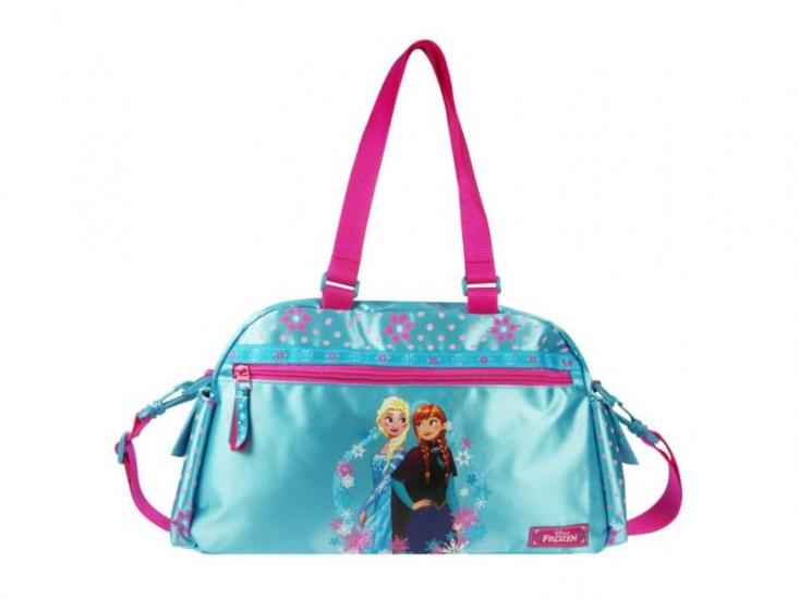 Disney Frozen schoudertas Magic Flakes blauw 13 x 41 x 21 cm
