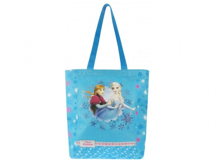 Disney Frozen shopper Graceful blauw 8,8 liter