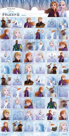 Haza Original stickervel Frozen 2 meisjes papier 60 delig