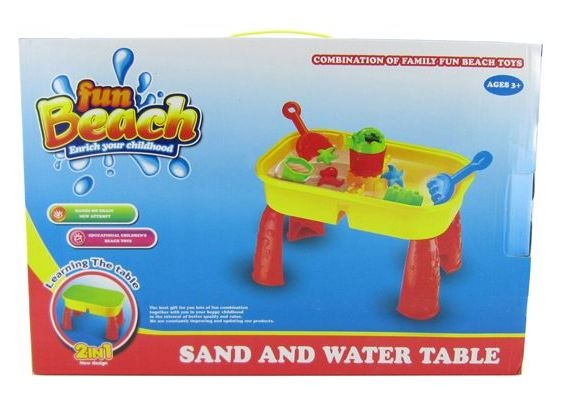 Fun Beach Zand en Watertafel 9 Delig