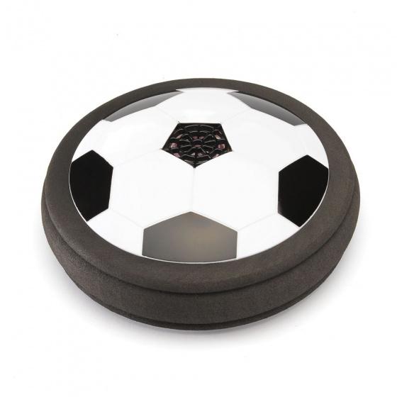 Funtime luchtkussen voetbal junior 18,5 cm foam zwart/wit