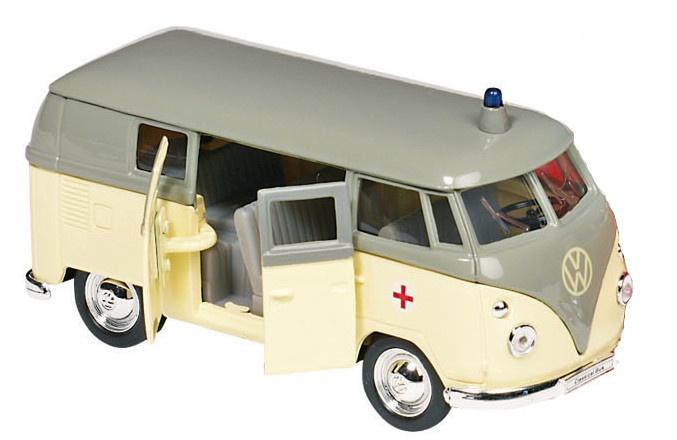 Goki Metalen Volkswagen Microbus (1962): 11,5 cm Beige