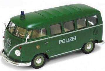 Goki Metalen Volkswagen Microbus (1962): 11,5 cm Groen