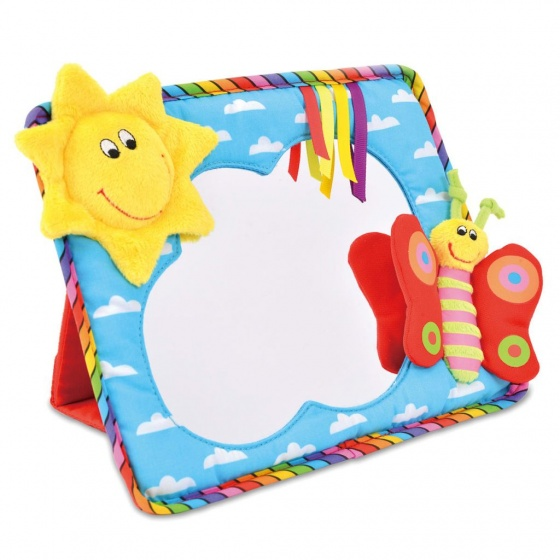 Galt babyspiegel lachende zon 18 x 27 cm