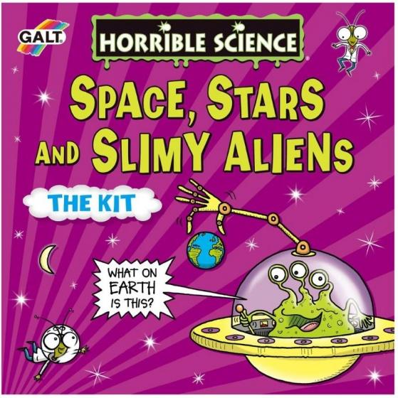 Galt experimenteerset Space,Stars en Slimy Aliens (en)