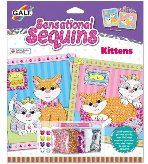 Galt kittens knutselset maak twee prachtige plaatjes met deze leuke knutselset van galt. versier de plaatjes ...
