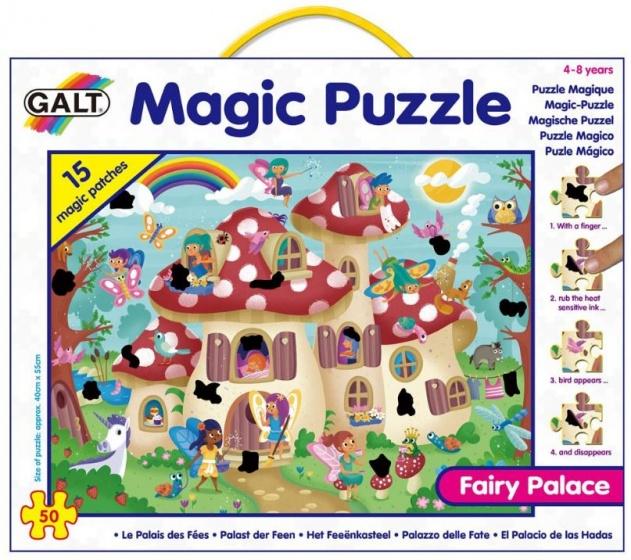 Galt magische legpuzzel Fee�nkasteel 50 stukjes