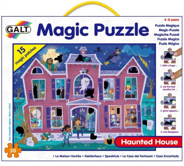 Galt magische legpuzzel Spookhuis 50 stukjes