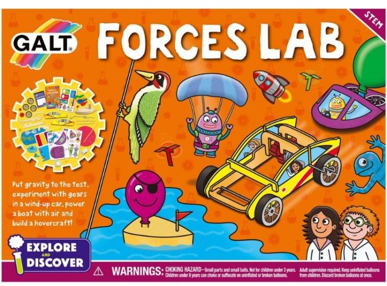 Galt verken en ontdek: Forces Lab