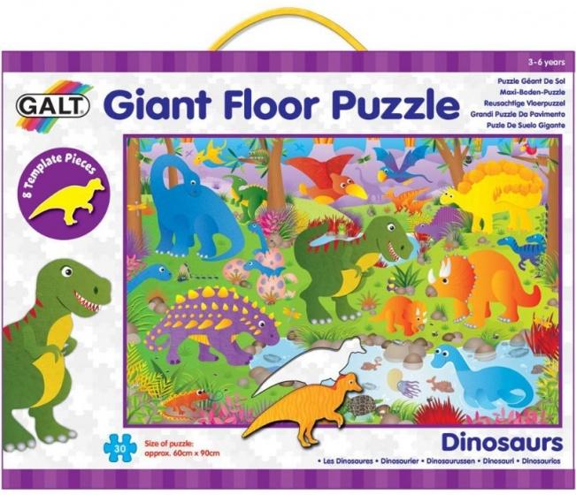 Galt vloerpuzzel Dinosaurus 30 stukjes