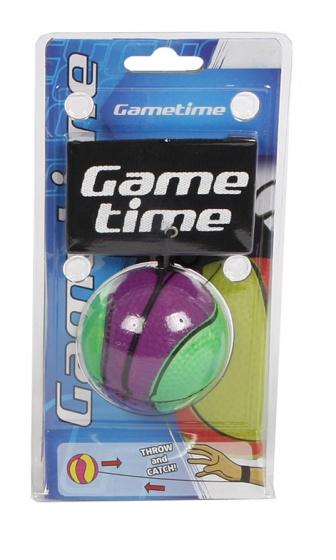 Gametime bungeebal 6 cm paars/groen