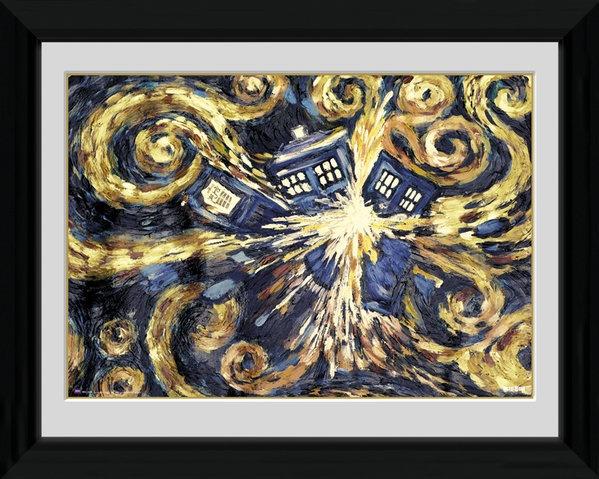 GB Eye poster in lijst Doctor Who Exploding Tardis 30 x 40 cm