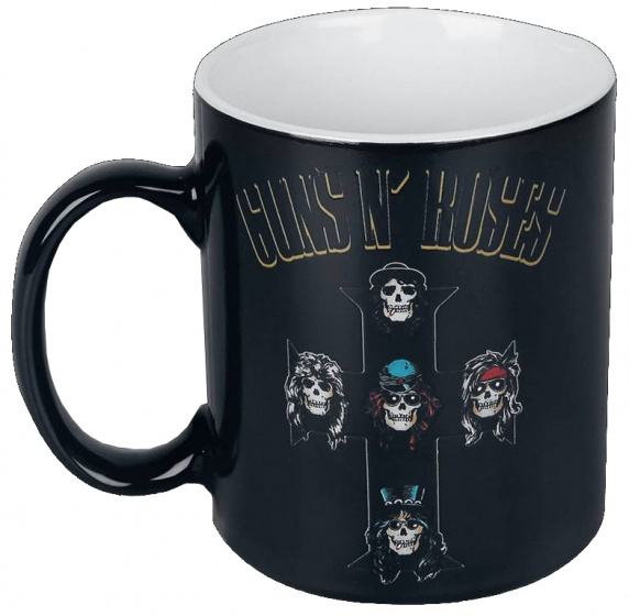 GB Eye warmtemok Guns & Roses: Cross zwart 300 ml